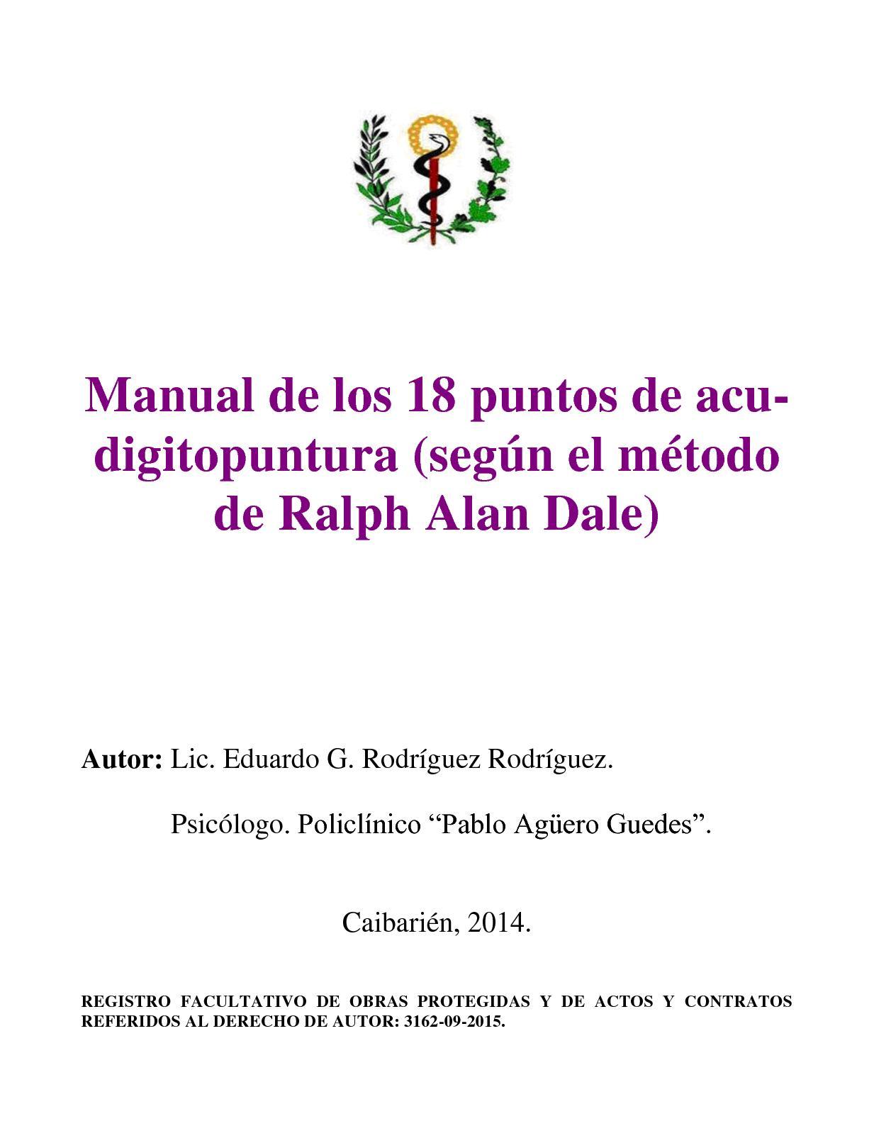 Calaméo - Manual De Los 18 Puntos De Acu Digitopuntura (Abajo ...