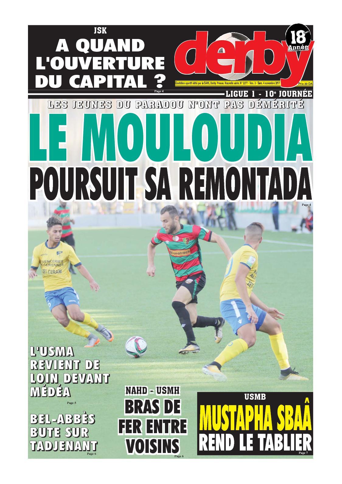 derby du 04.11.2017