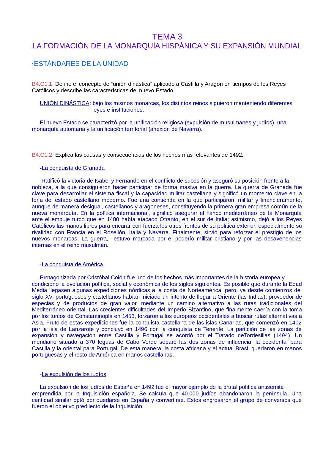 Estándares - Bloque 3