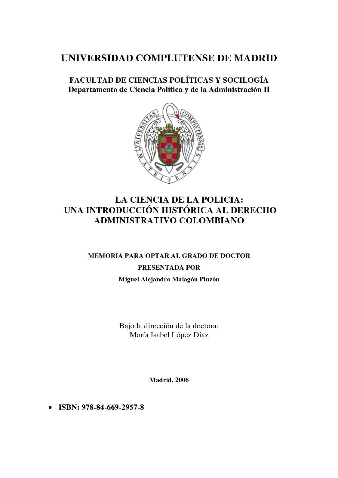 Calaméo - Origen Del Derecho Administrativo Colombiano