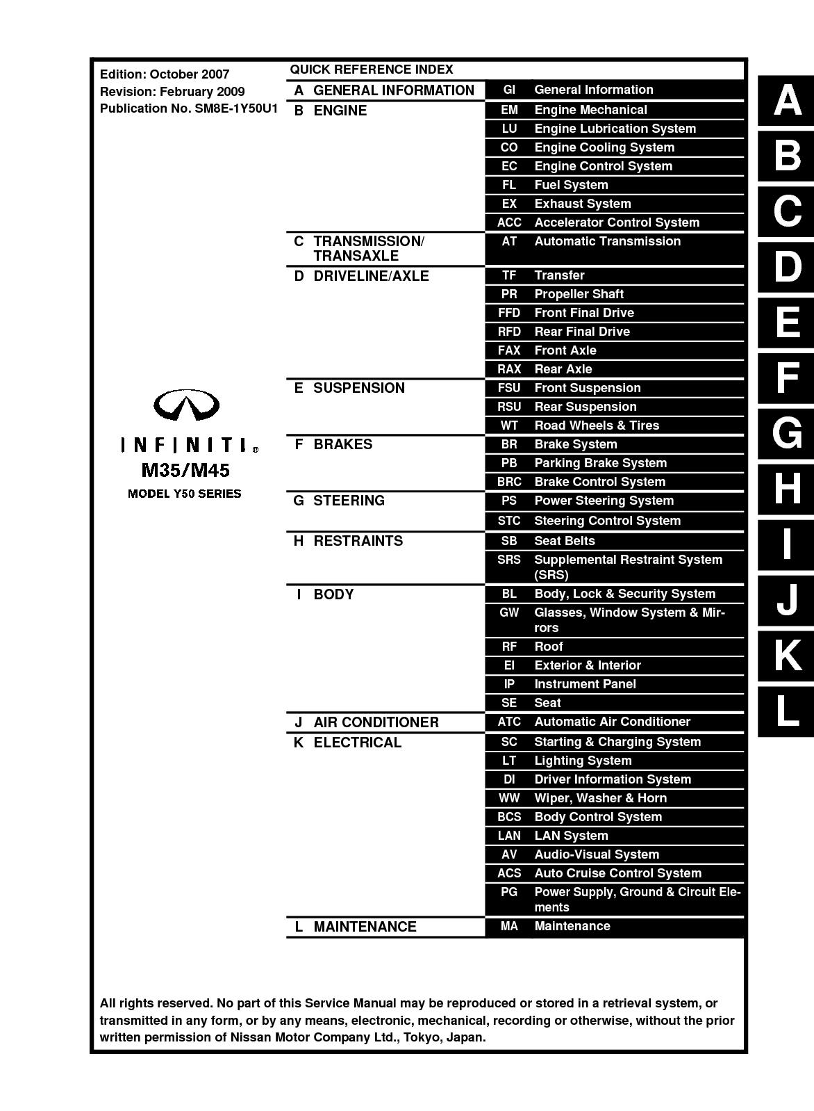 calam o 2008 infiniti m35 m45 service repair manual rh calameo com 2007 infiniti m35 service manual 2006 infiniti m35 service manual pdf