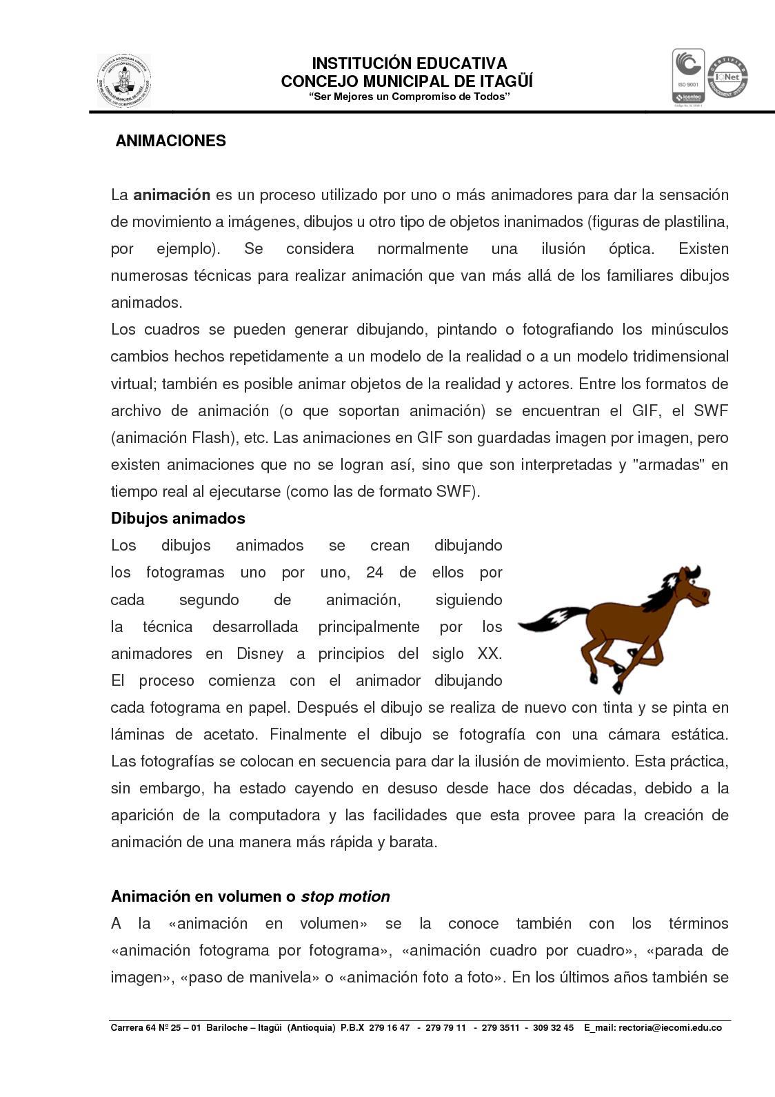 Calaméo - Documento De Elaboracion De Animaciones
