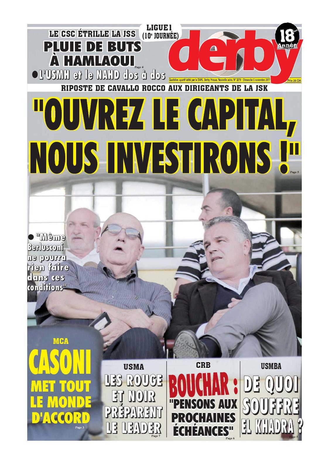 derby du 05.11.2017