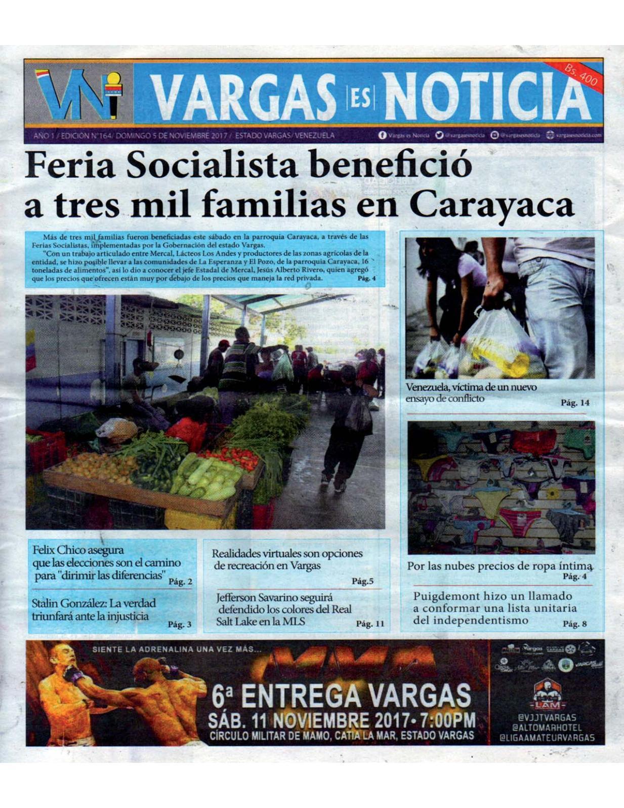 Vargas es Noticia, domingo 5 de octubre de 2017 N° 164