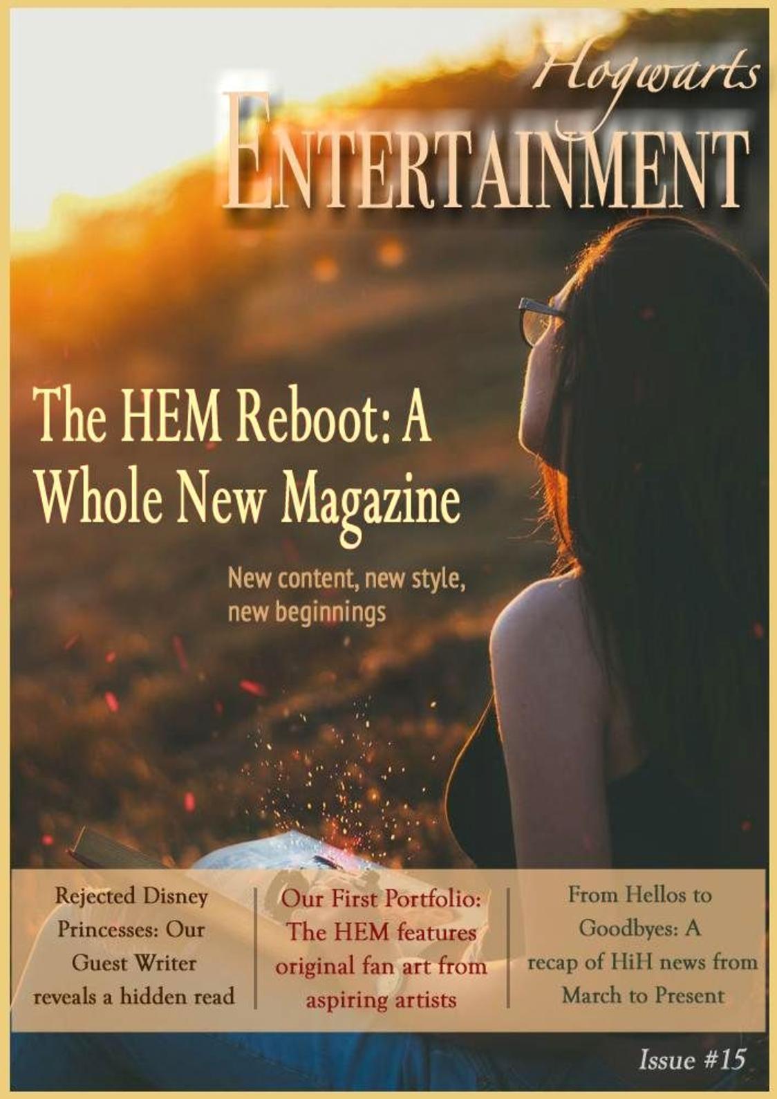 The Hogwarts Entertainment Magazine Issue #15