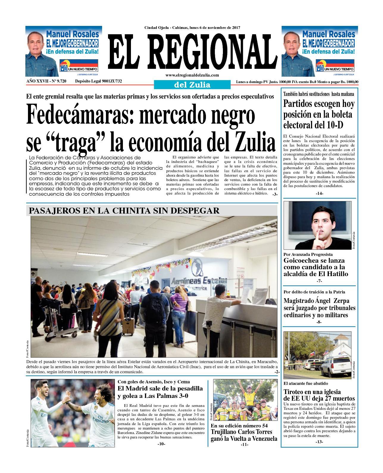 El regional del zulia 06-11-2017
