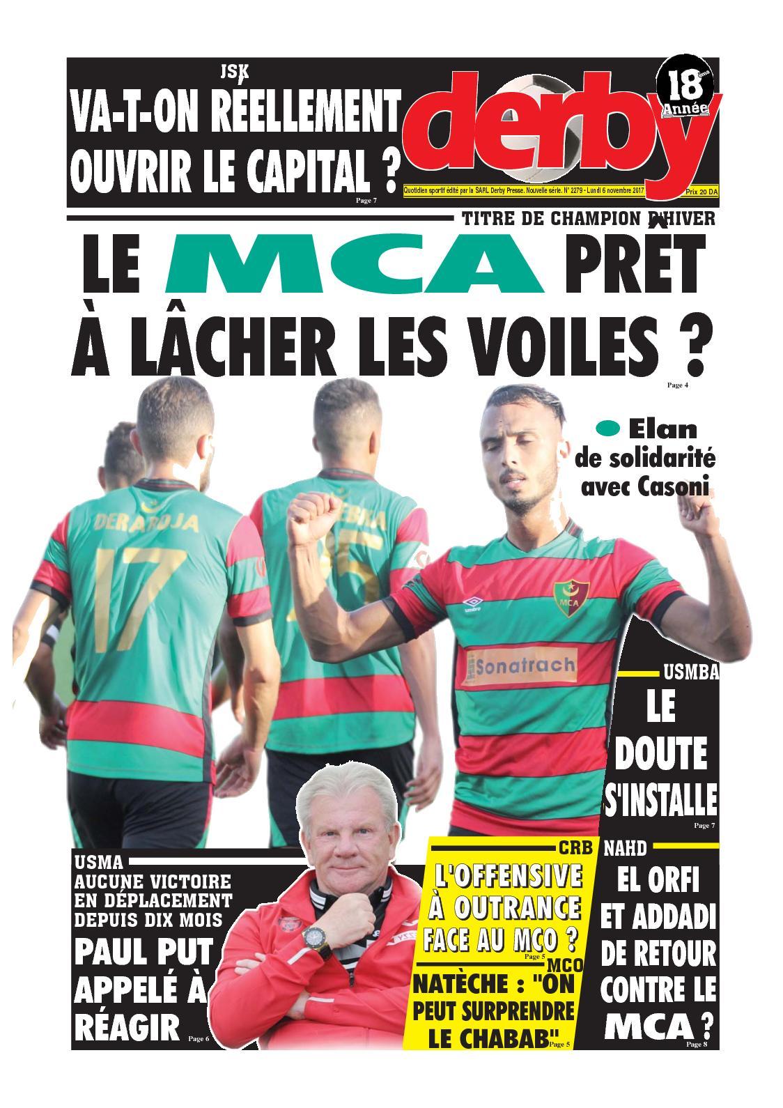 derby du 06.11.2017