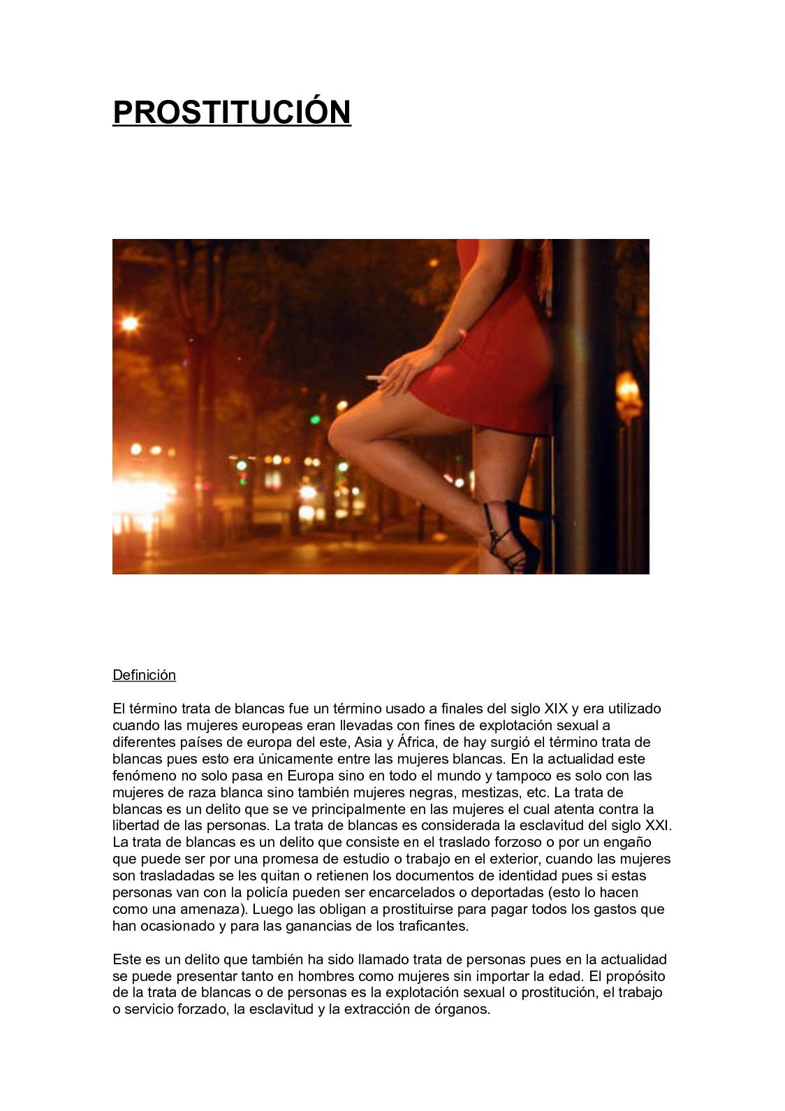 prostitutas nacionalidad que quiere decir estereotipo