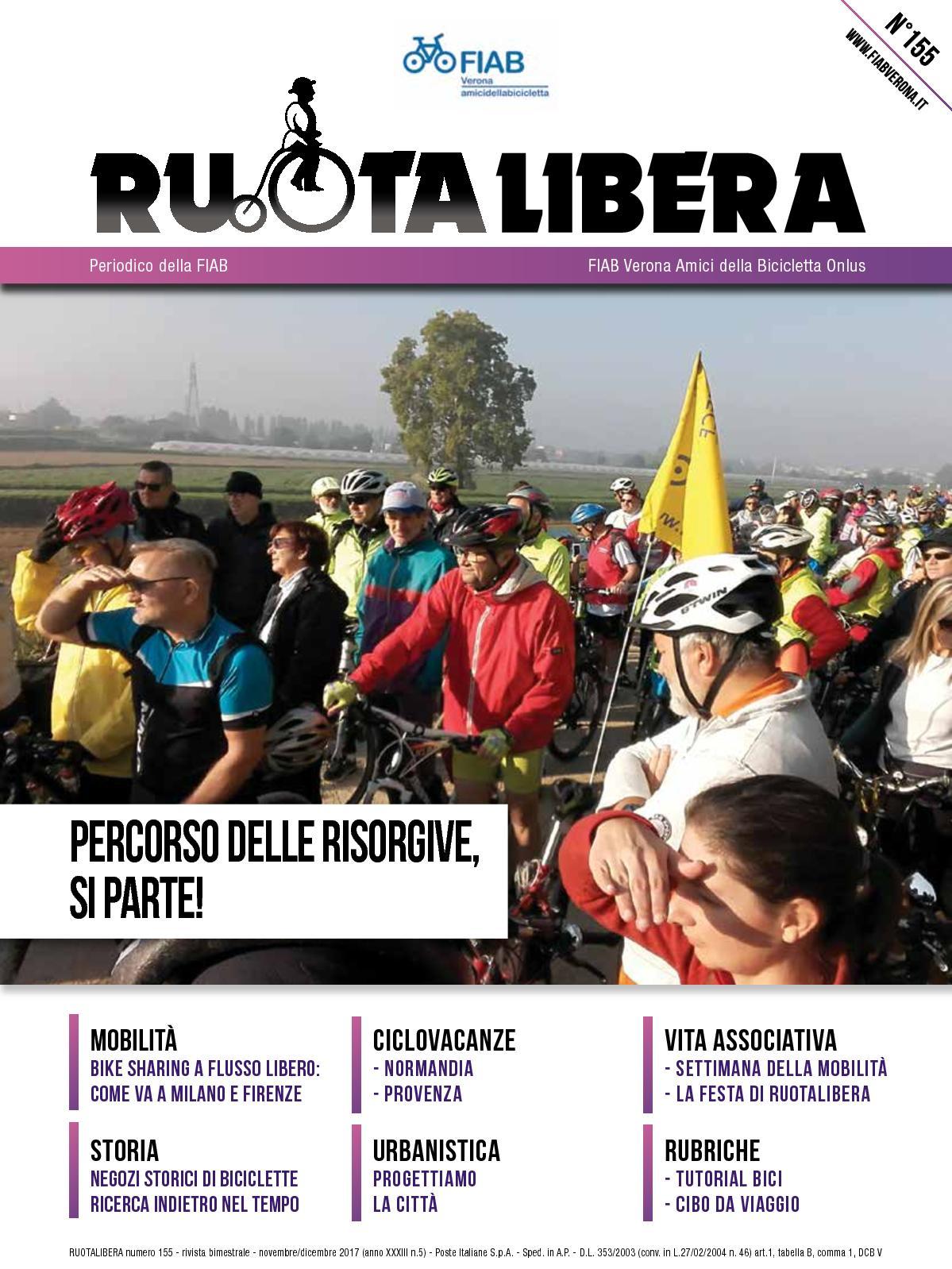 Ruotalibera 155 (novembre/dicembre 2017) - FIAB Verona - AdB