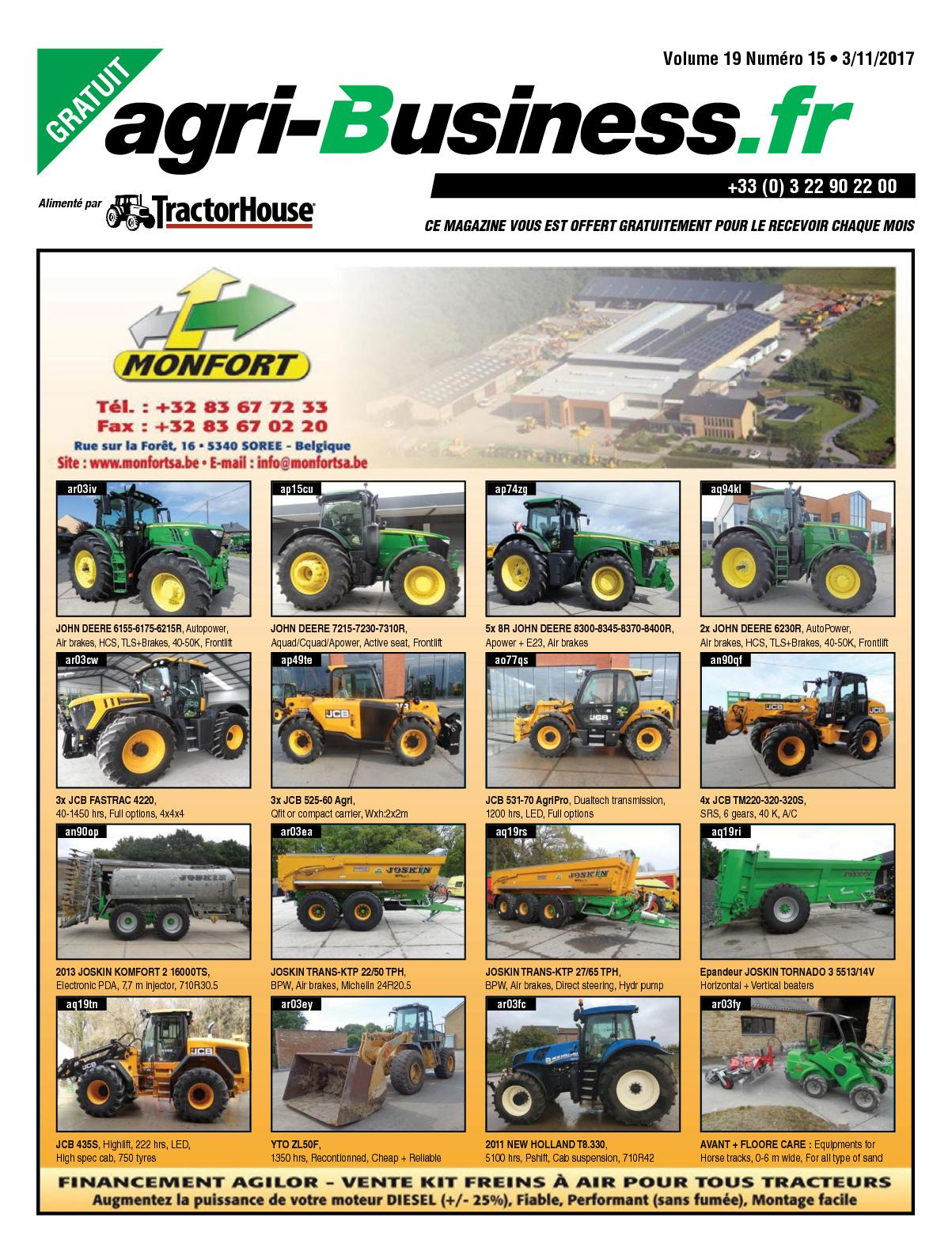 calaméo agri business volume 19 numÉro 15 03 11 2017