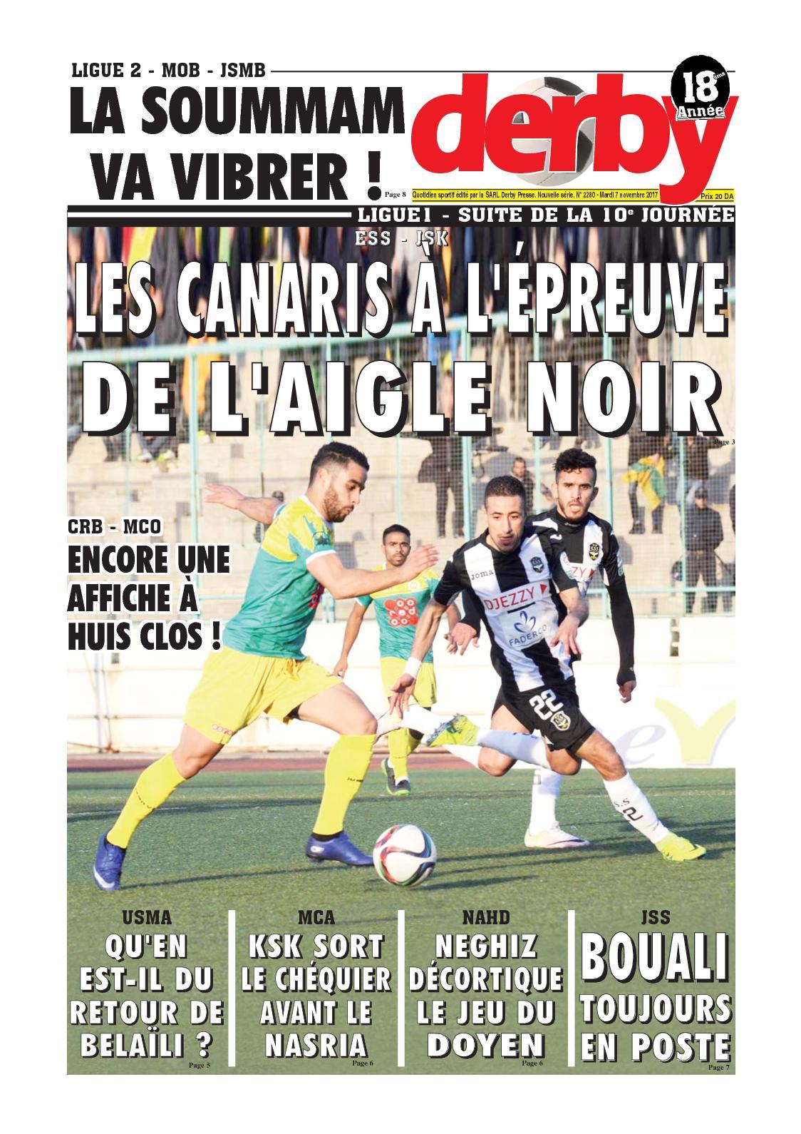 derby du 07.11.2017