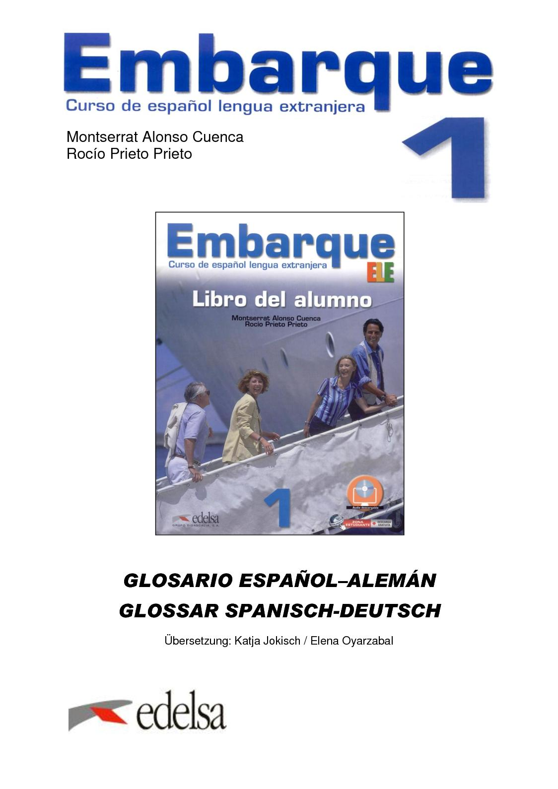 Calaméo - Embarque 1, Spanisch - Deutsch