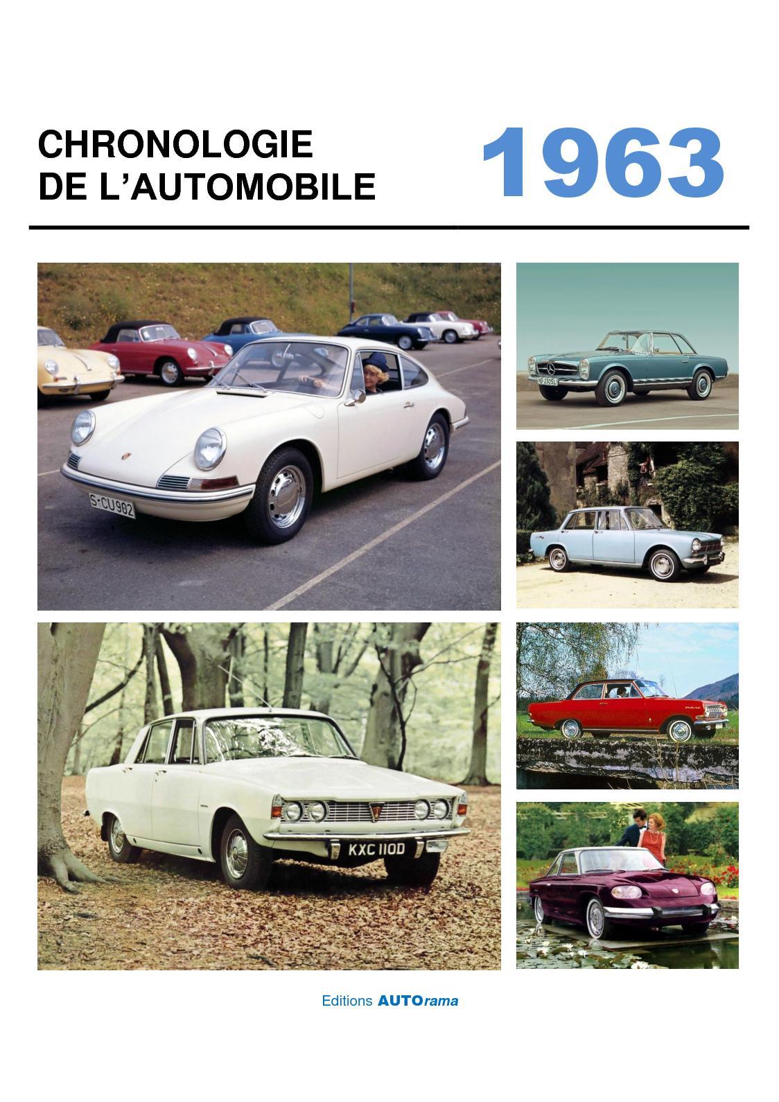 Chronologie de l'automobile - 1963
