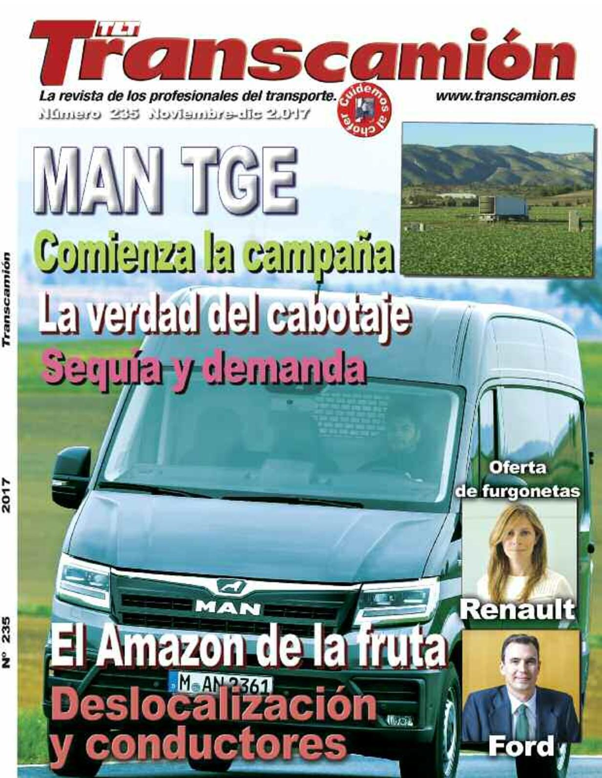 Calaméo - Transcamion Nº 235 NOVIEMBRE 2017
