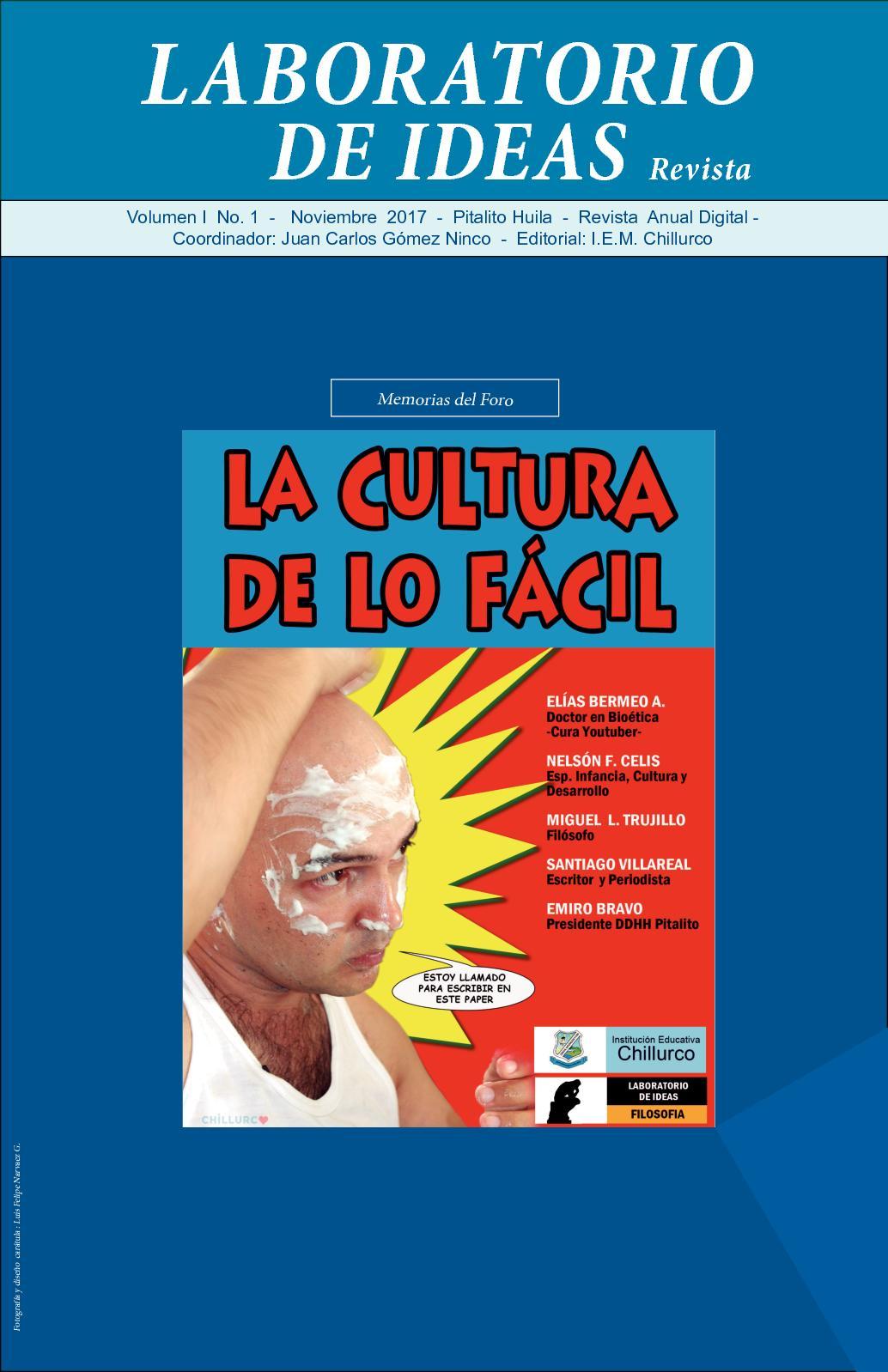 Calaméo - Revista Laboratorio de Ideas -Cultura de lo Fácil -