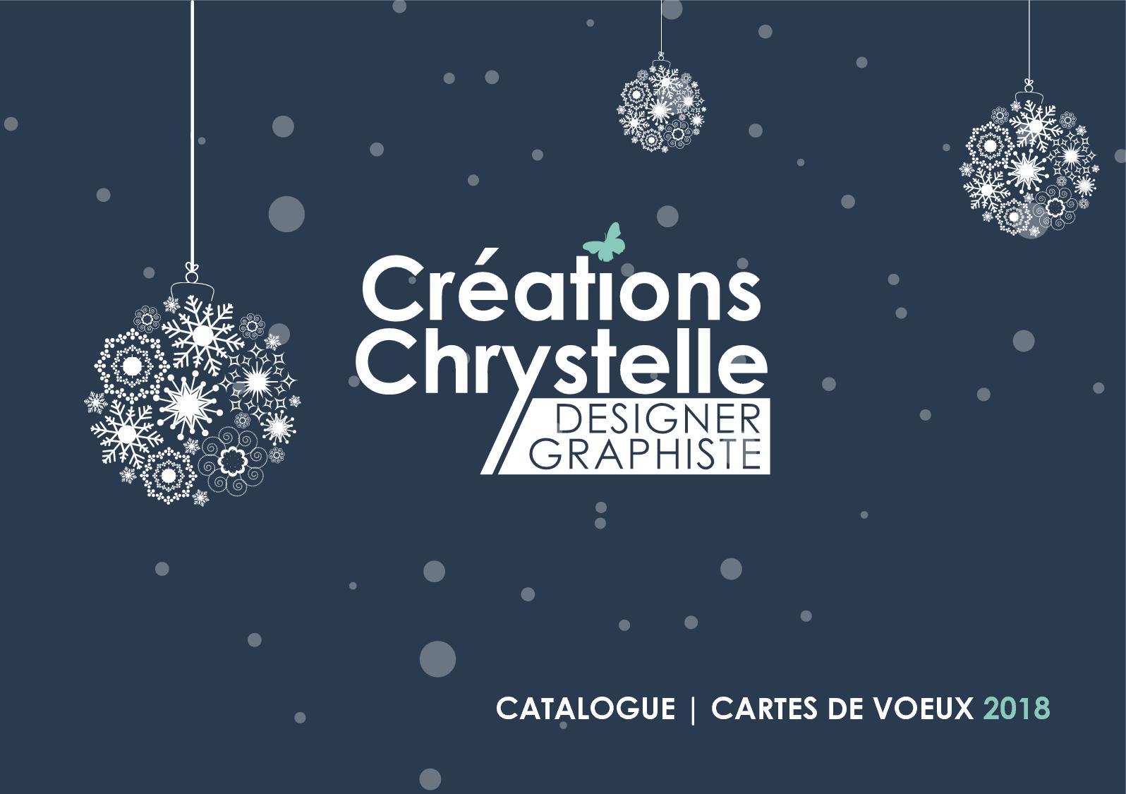 Créations Chrystelle Catalogue Cartes De Voeux 2018