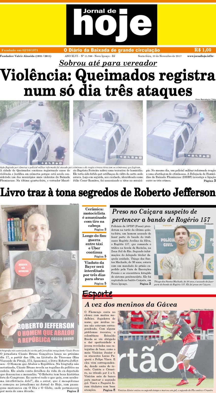 Jornal De Hoje 101117