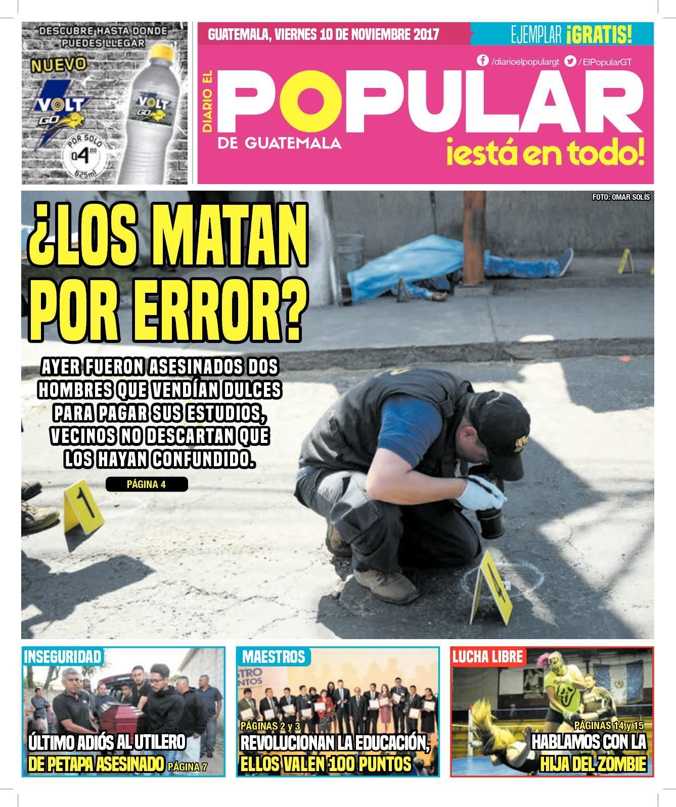 EL POPULAR GUATEMALA 10112017