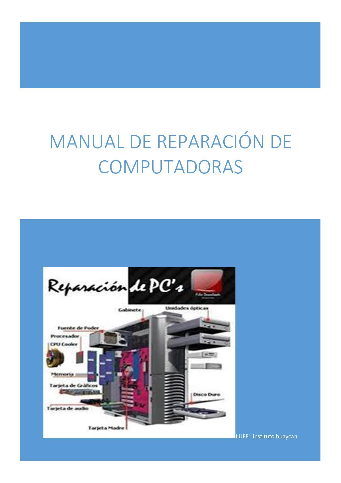 Calaméo - Reapacion De Computadoraspdf