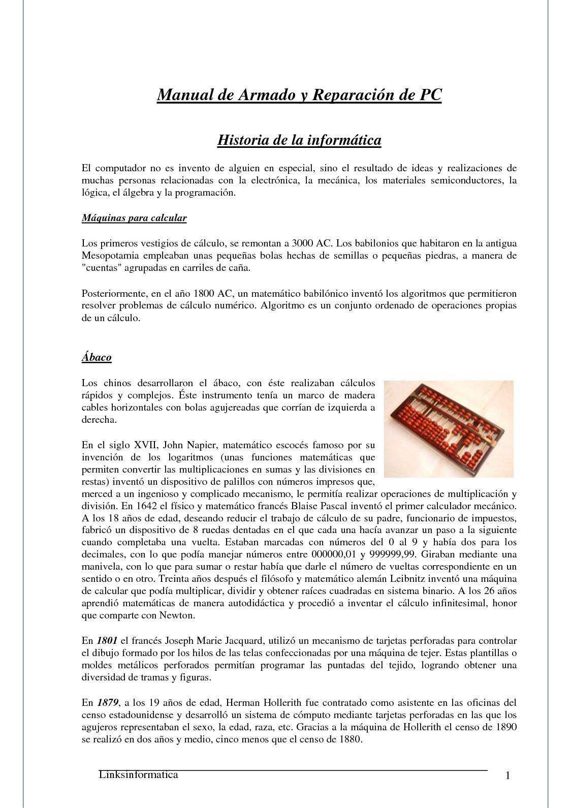 Calaméo - Manual De Armado Y Reparacion De Pc 1