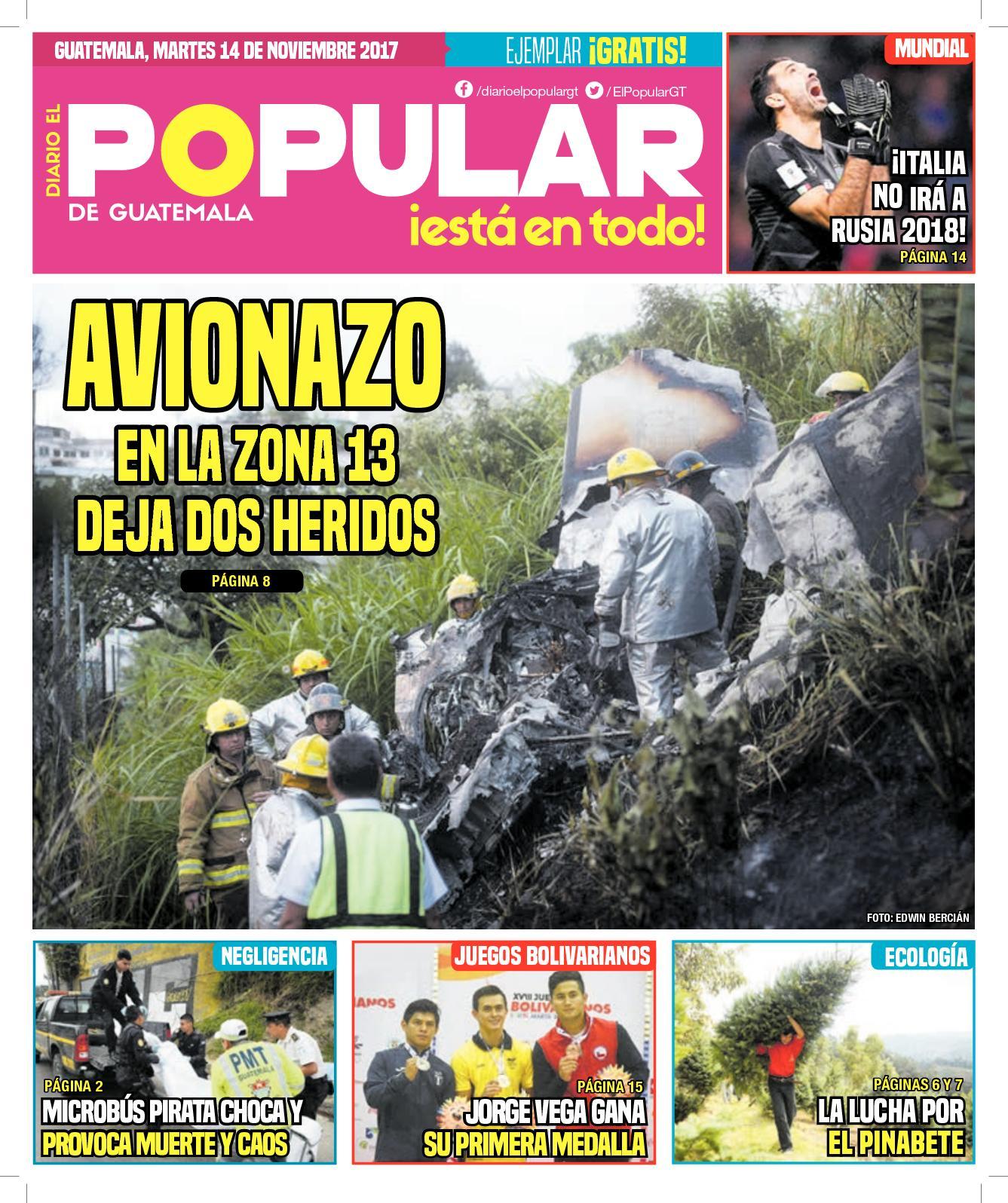 EL POPULAR GUATEMALA 14112017