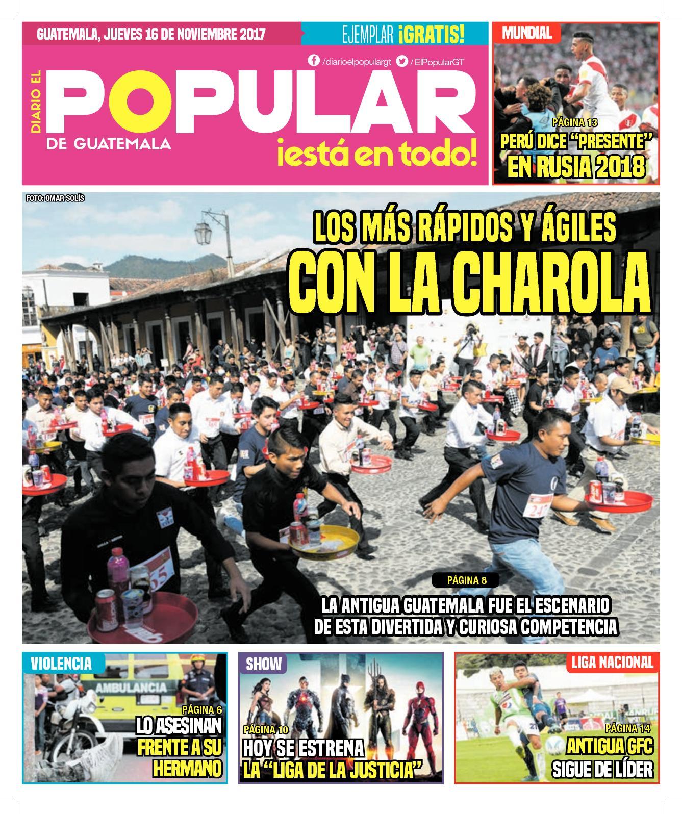 EL POPULAR GUATEMALA 16112017