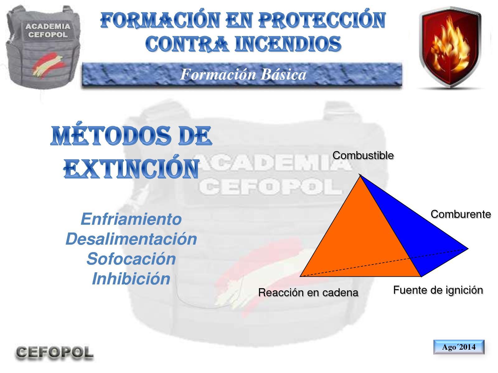 PCI 30 - Metodos De Extinción