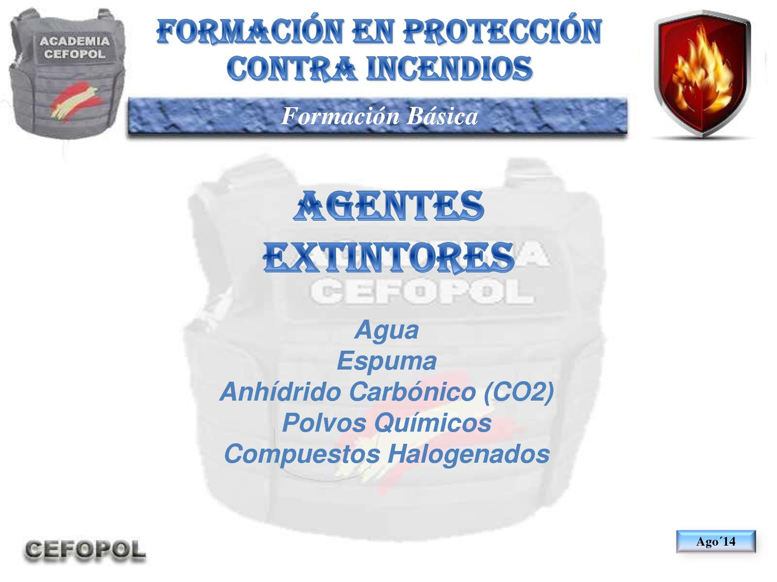 PCI 40 - Agentes Extintores