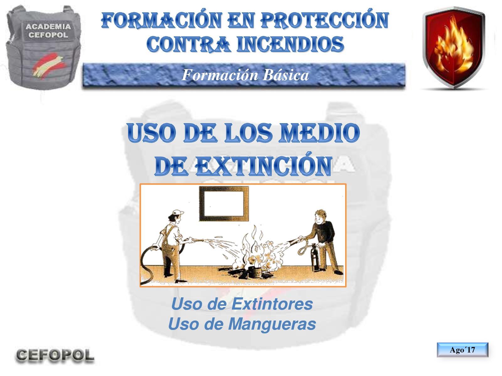 PCI 60 - Uso De Los Medios De Extinción