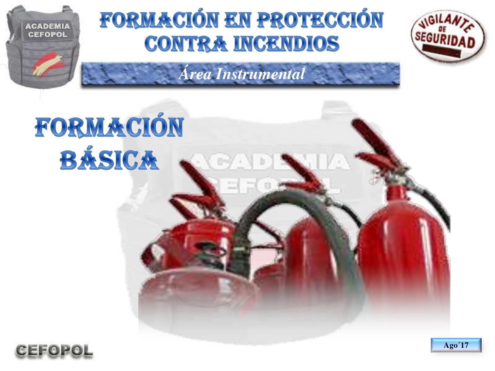 PCI 10 - Proteccion Contra Incendios