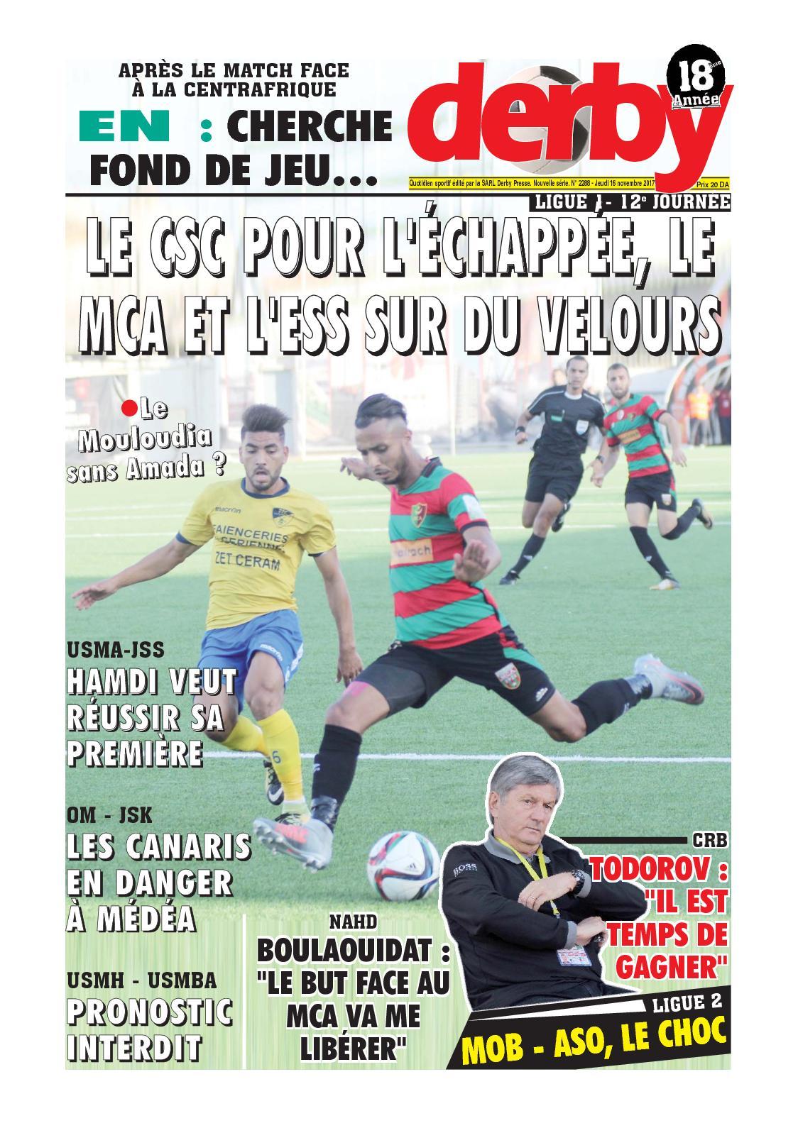 derby du 16.11.2017