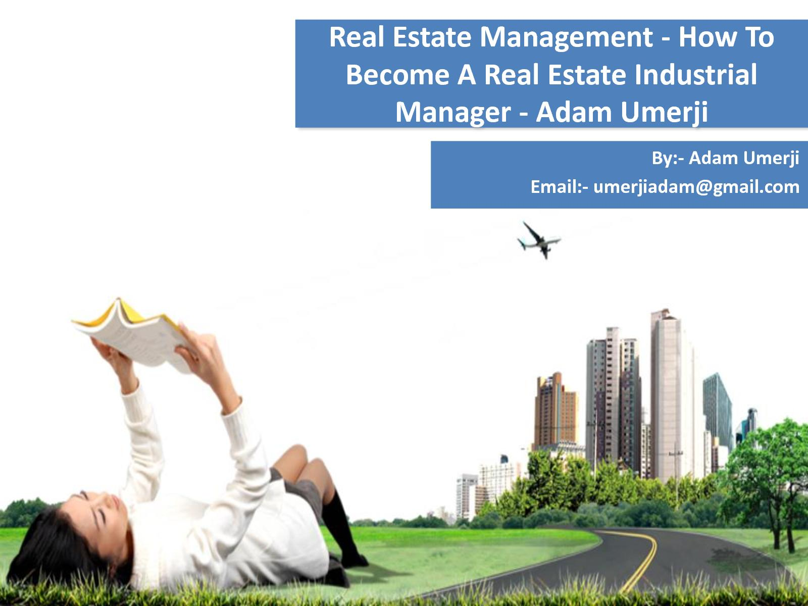how to become an estate manager