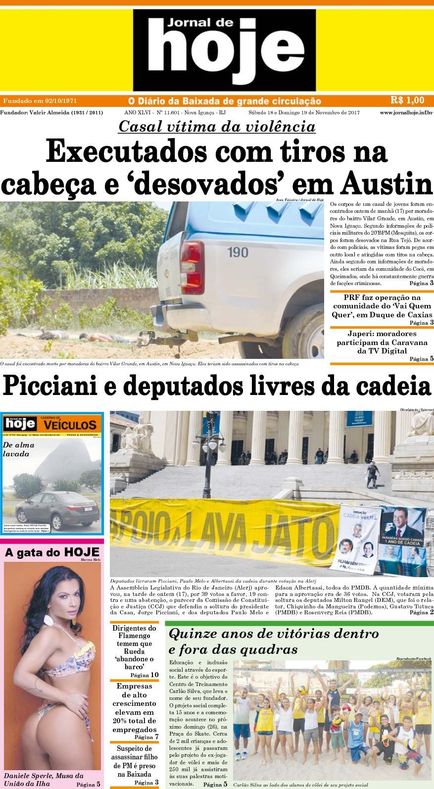 Jornal De Hoje 181117