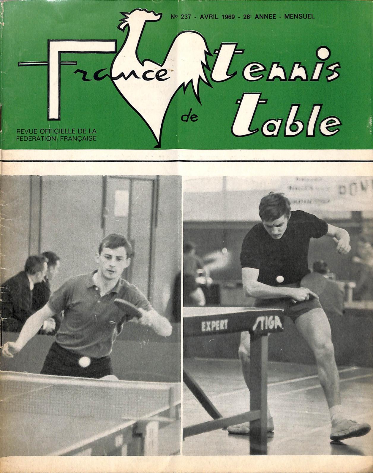 Calam o 1969 04 237 france tennis de table - Federation francaise tennis de table ...