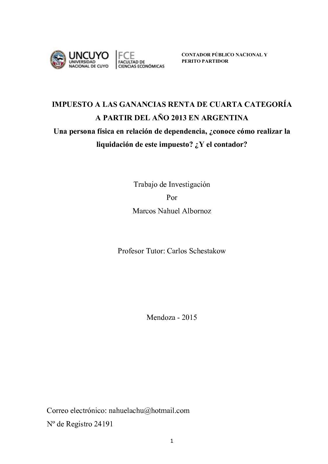 Calaméo - Liquidacion De Rentas 4ta Categoria }