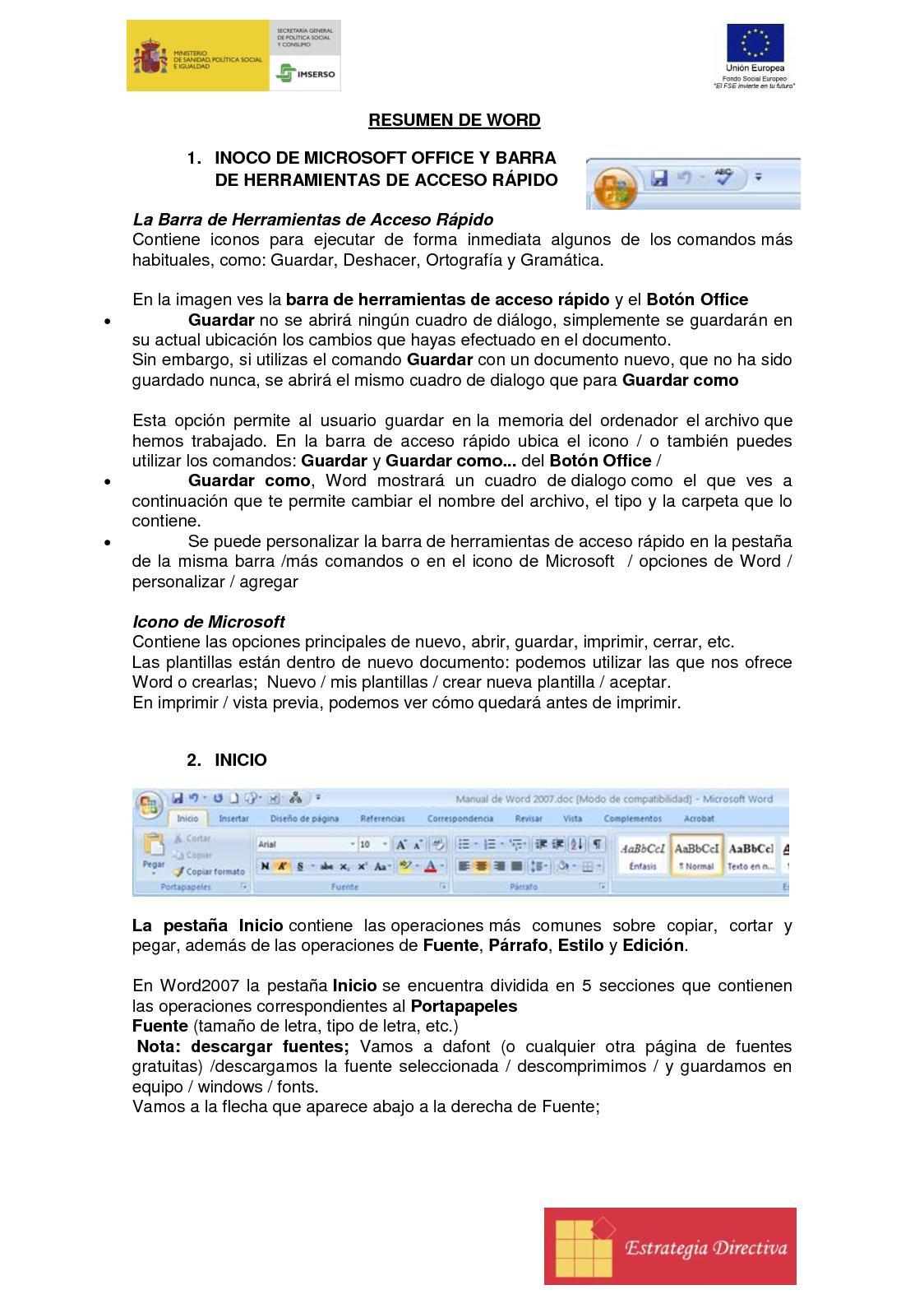 Calaméo - Resumen De Word (1)