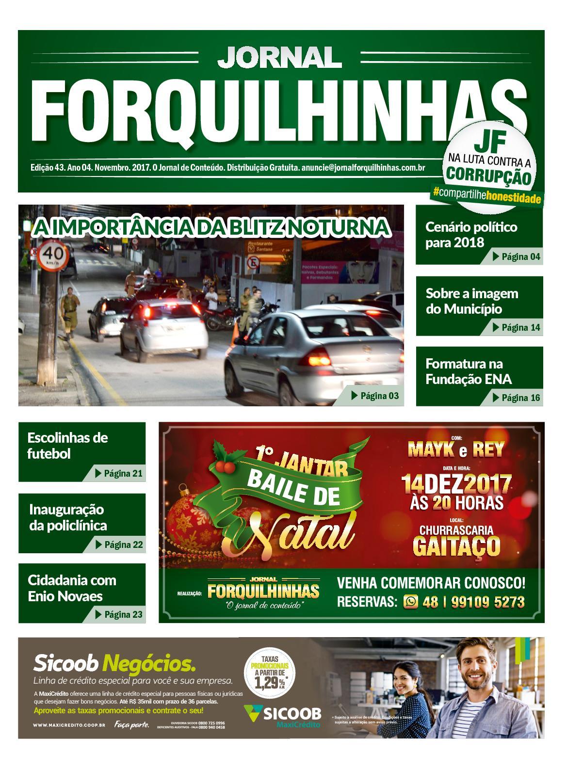 Jornal Forquilhinhas - Edição Digital #43