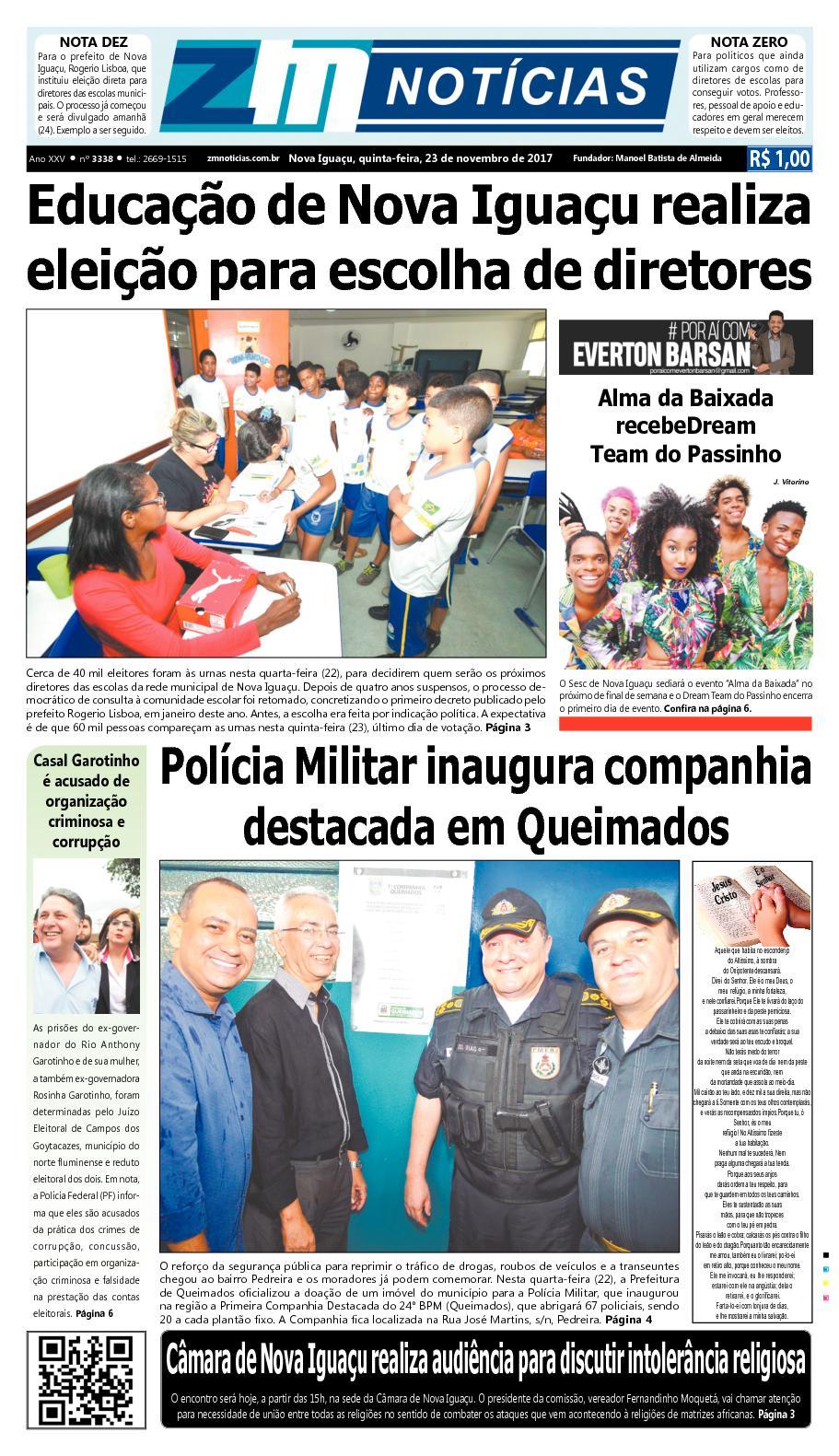 ZM Noticias - Edição 231117