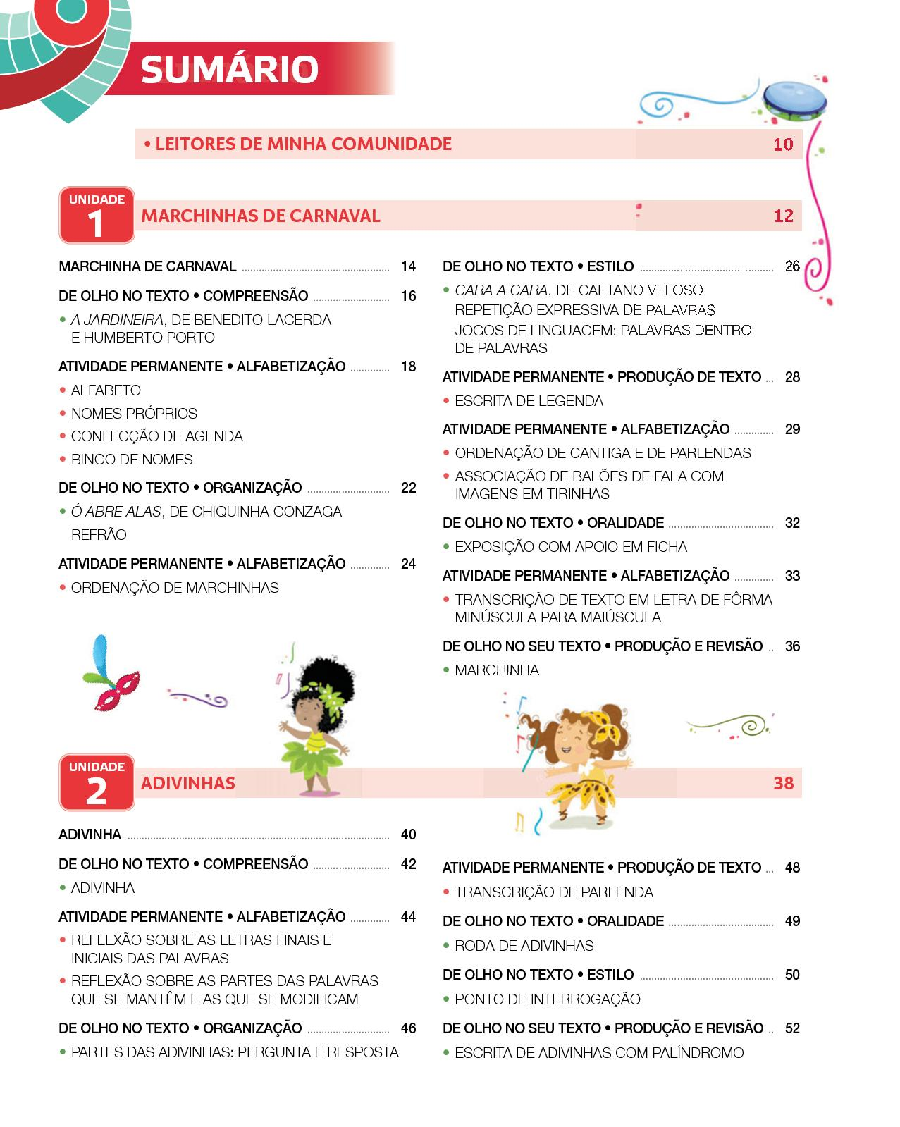 Projeto Presente - Língua  Portuguesa - 2º  ano