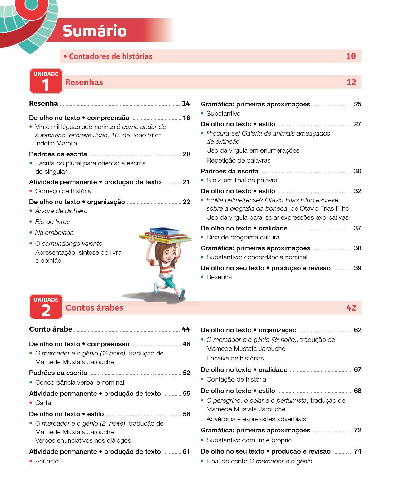 Projeto Presente - Língua  Portuguesa - 4º  ano