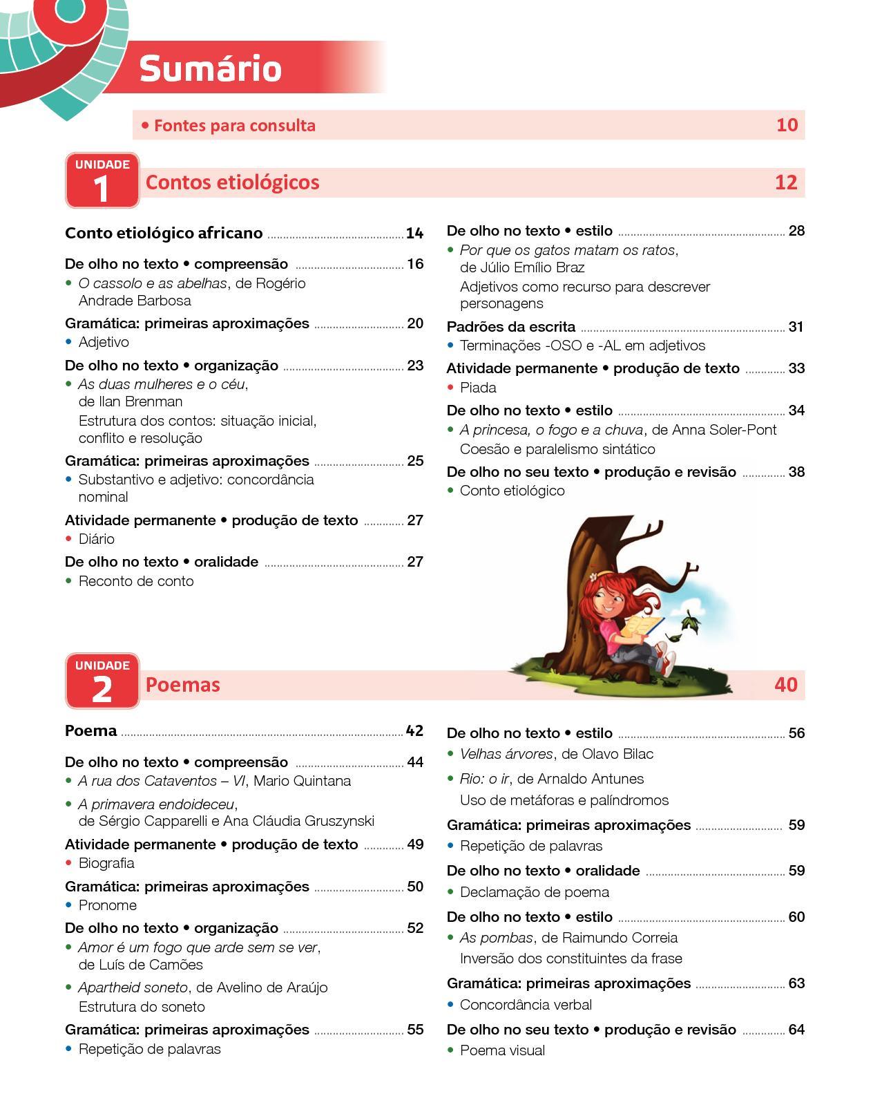 Projeto Presente - Língua  Portuguesa - 5º  ano