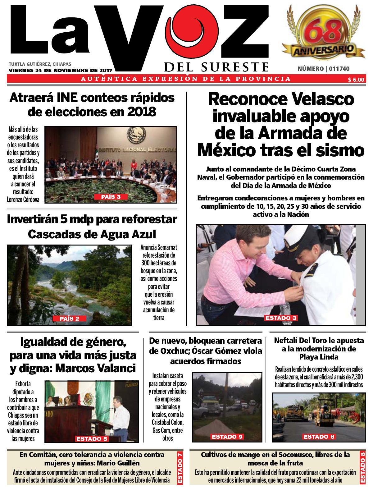 Calaméo - Diario La Voz del Sureste 12cad6910fa63