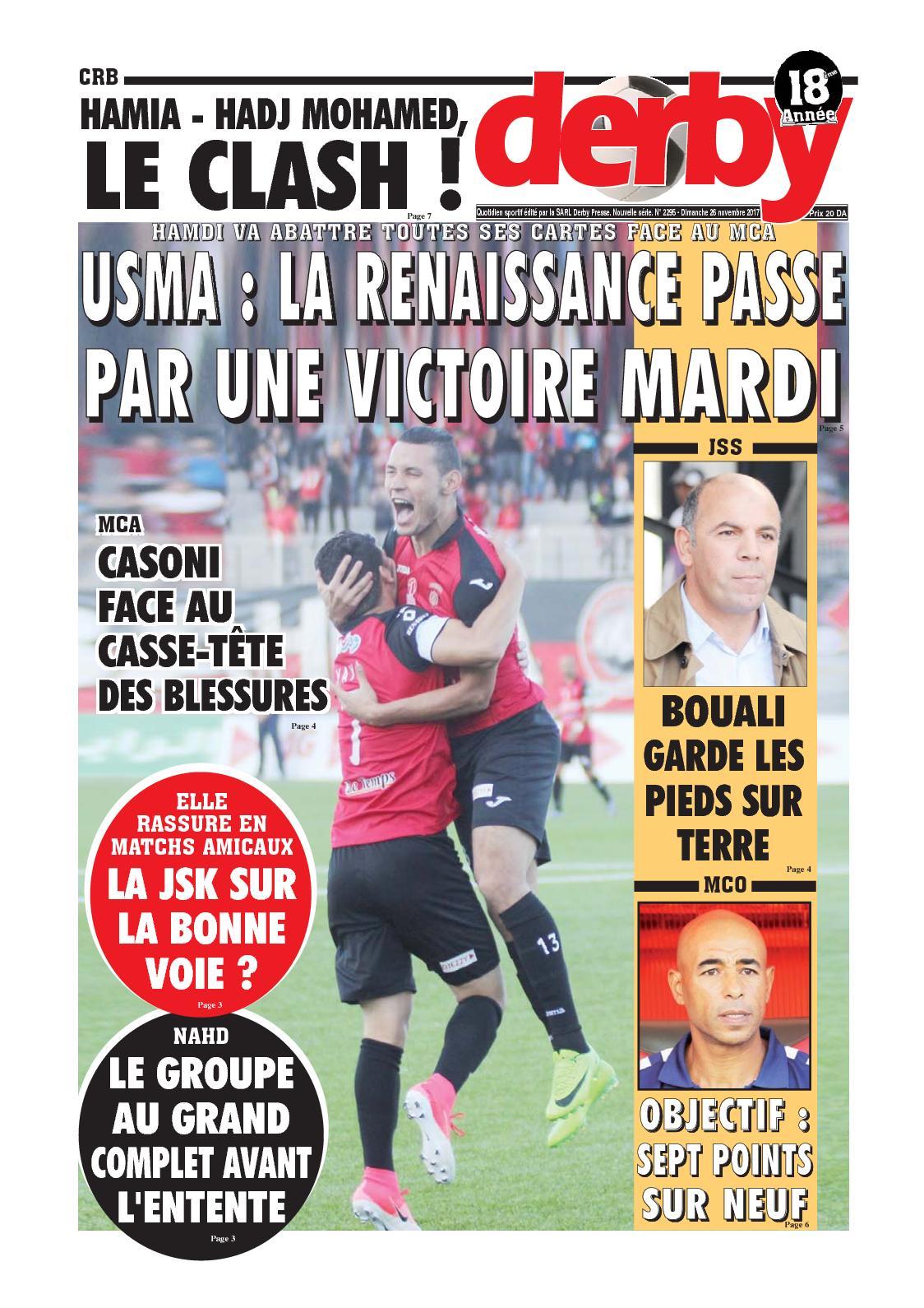 derby du 26.11.2017