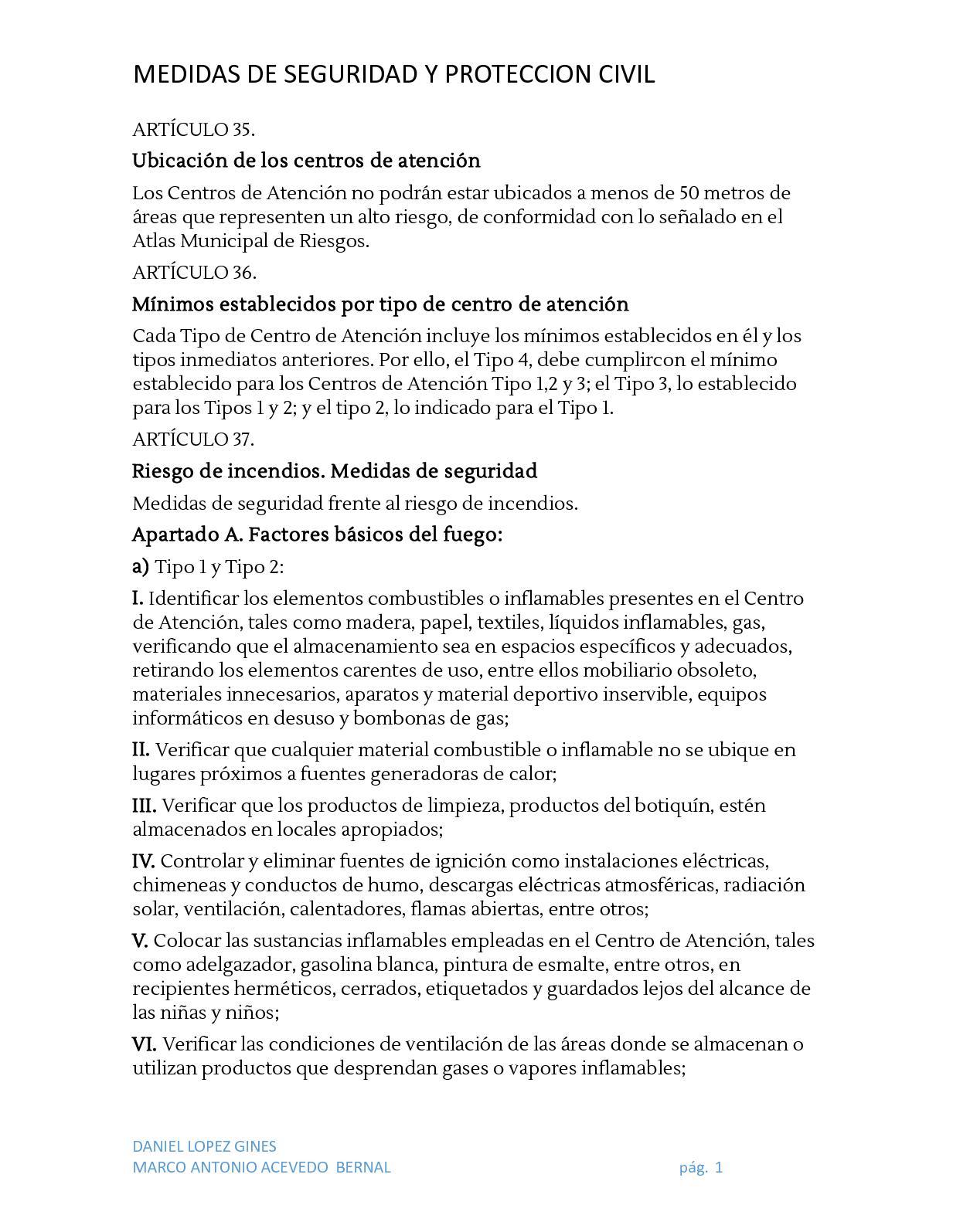 Calaméo - Medidas De Seguridad Y Proteccion Civil (1)