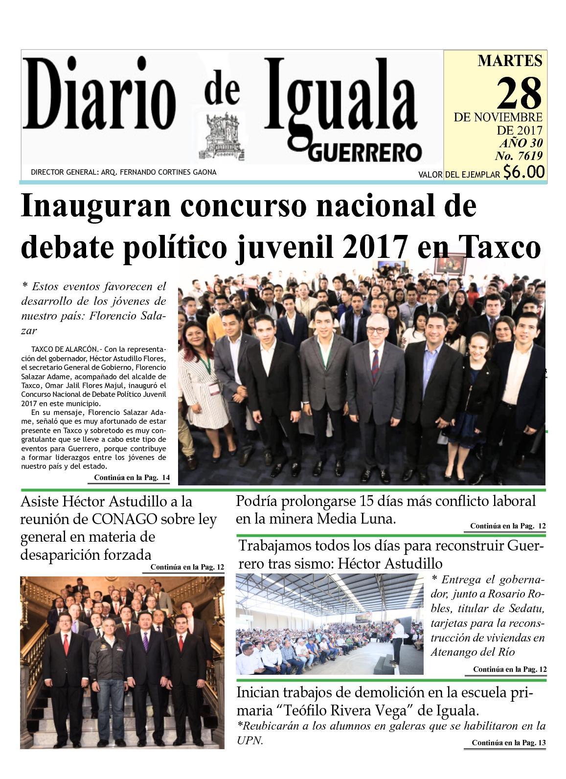 Calaméo - Diario De Iguala Martes 28 De Noviembre De 2017