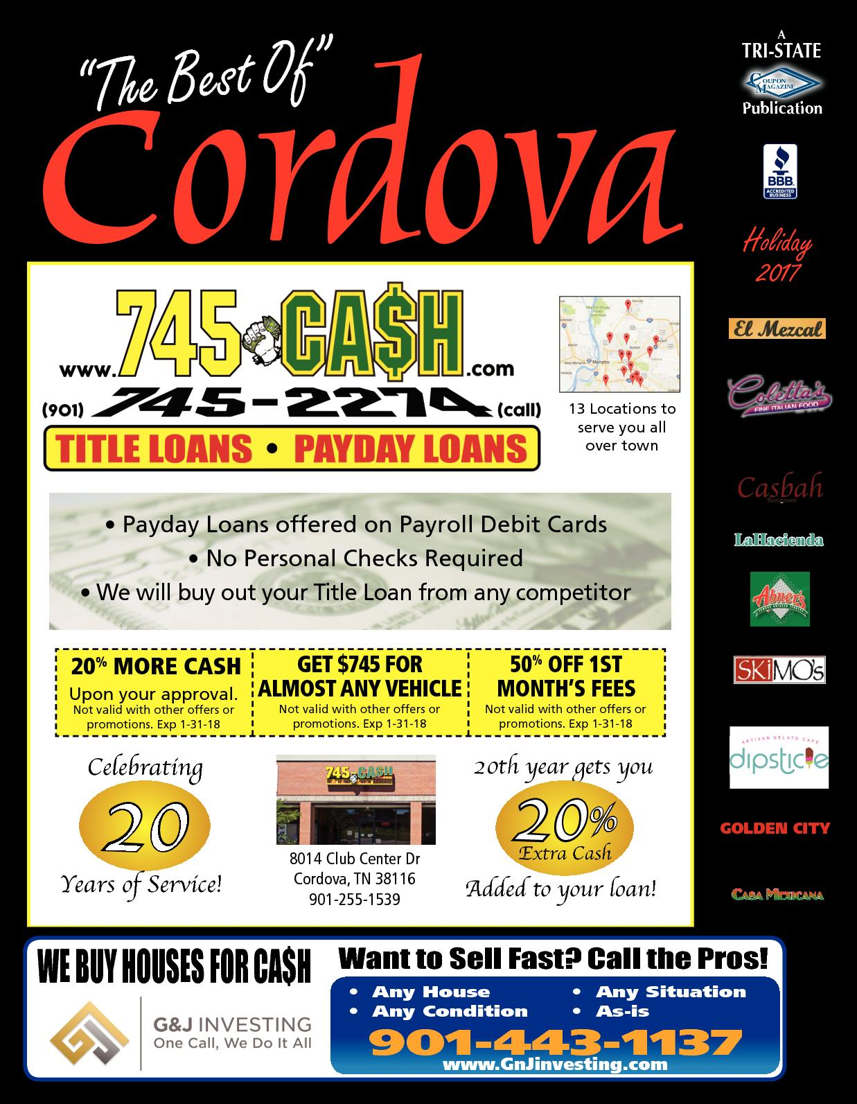 $745 Payday Loans Online