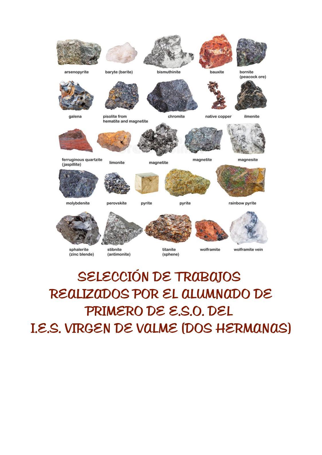 Catálogo de minerales