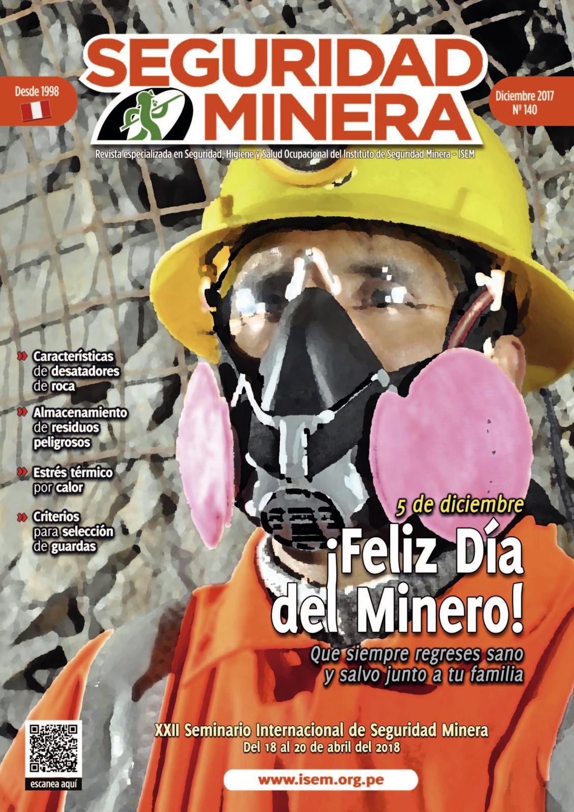 Seguridad Minera Edición 140