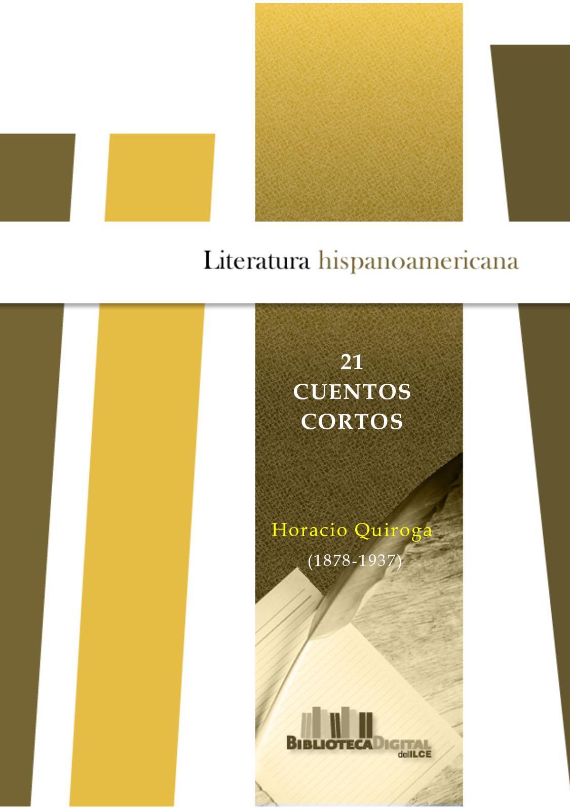 Calaméo - 21cuentos Cortos: Quiroga