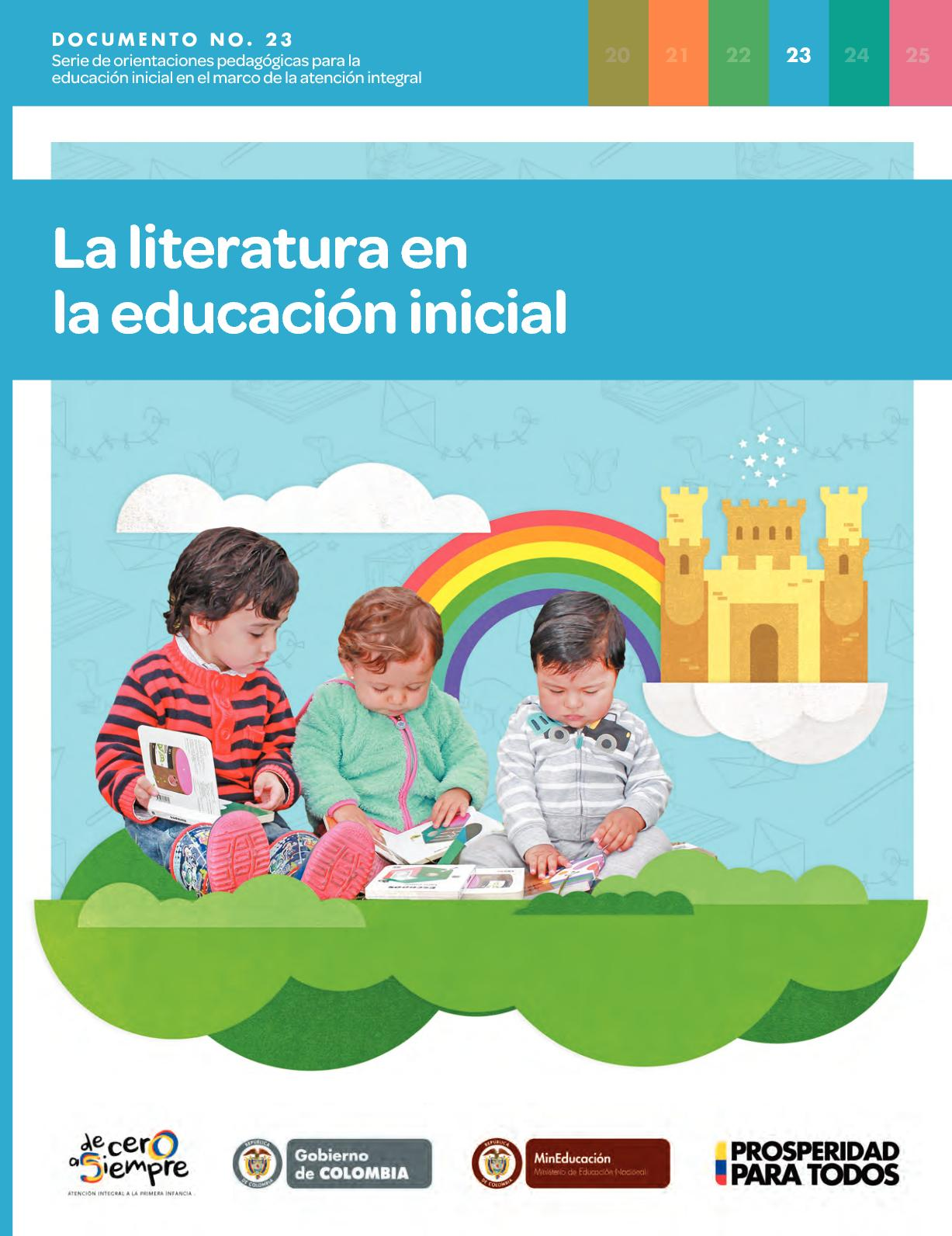 Calaméo - Documento N23 Literatura Educacion Inicial
